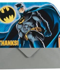 Batman Party Thank You Cards