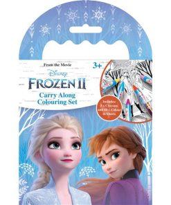 Frozen 2 Carry Along Colouring Set