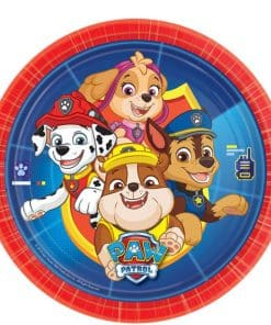 Paw Patrol Party Paper Plates