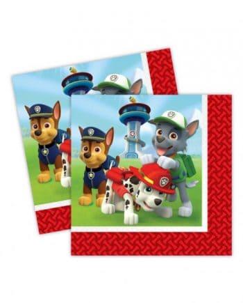 Paw Patrol Party Paper Napkins