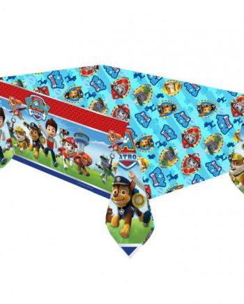 Paw Patrol Party Plastic Tablecover