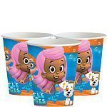 Bubble Guppies Party Paper Cups 255ml Pk 8