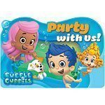 Bubble Guppies Party Invites Pk 8