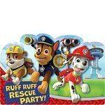 Paw Patrol Party Invitations Pk 8