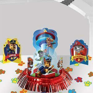 Paw Patrol Party Table Decorating Kit - 31cm High