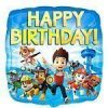 Paw Patrol Party Happy Birthday Foil Balloon 18
