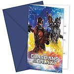 Guardians of the Galaxy Party Invites Pk 6