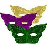 Mardi Gras Masquerade Party Butterfly Mask