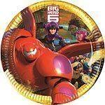 Big Hero 6 Paper Plates
