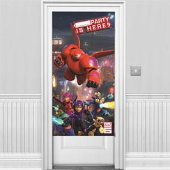 Big Hero 6 Party Door Banner