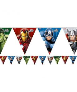 Avengers Party Plastic Bunting