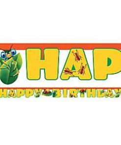 Bug Eyed Happy Birthday Banner