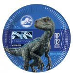 Jurassic World Party Plates