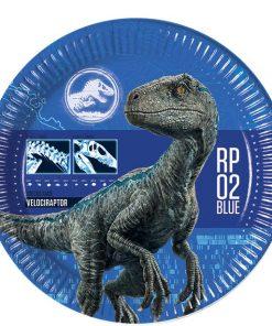 Jurassic World Party Plates