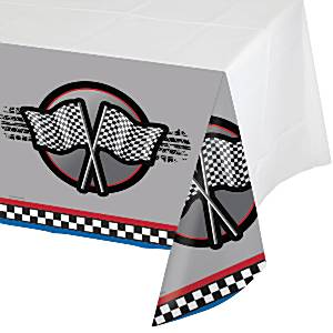 Racing-Party-Plastic-Tablecover
