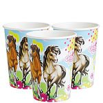 charming-horses-paper-cups-