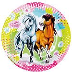 charming-horses-paper-plates