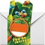 Bug Eyed Party Invites Pk 8