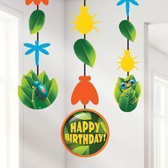 Bug Eyed Party Hanging Cutouts - 61cm Pk3