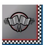 Racing Party Paper Napkins Pack of 16