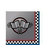Racing Party Beverage Napkins Pack of 16