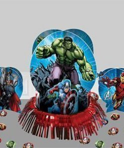 Avengers Multi Heroes Table Centrepiece Decoration Kit