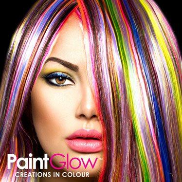UV Neon Hair Colour Gels