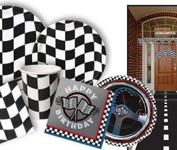 Buy Racing Car Grand Prix Formnula 1 Themed Birthday Party Supplies