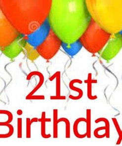 21st Birthday Themes