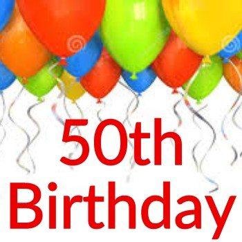 50th Birthday Themes