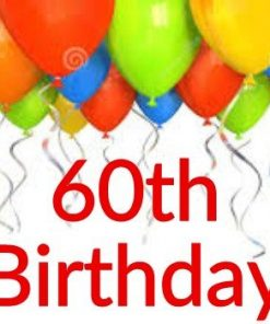 60th Birthday Themes