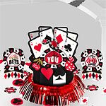 Casino Night Table Party Decorating Kit