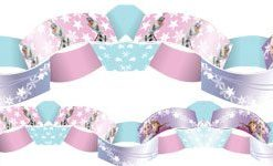 Disney Frozen Ice Skating Paper Chains