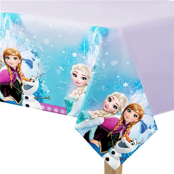 NEW Disney Frozen Plastic Tablecover