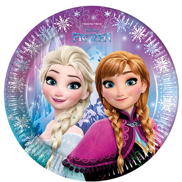 NEW Disney Frozen Party Themed Party Plates