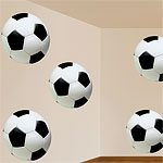 Football Party Cutouts Decorations - 33cm (12pk)