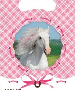 Heart My Horse Party Bags (pk 6)