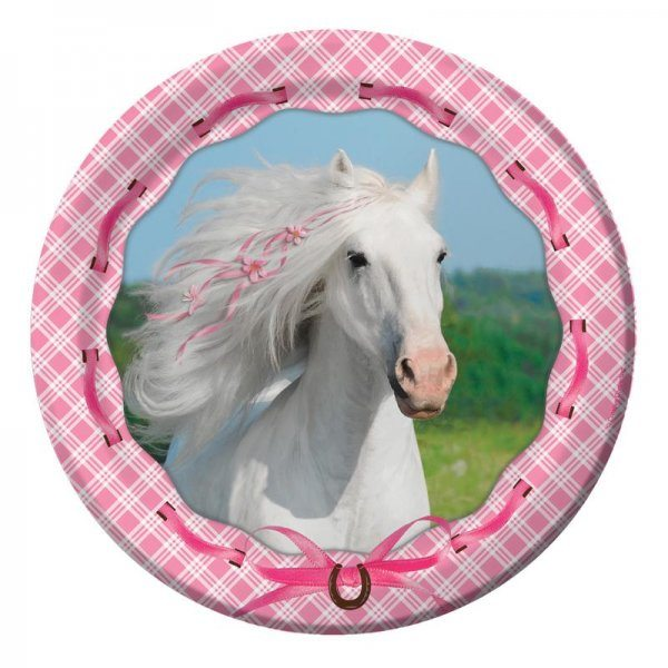 Heart a Horse Party Plates