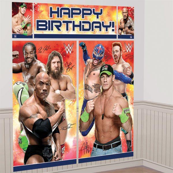 WWE Wrestling Scene Setter