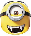 Despicable Me Party Minion Gone Batty Mask