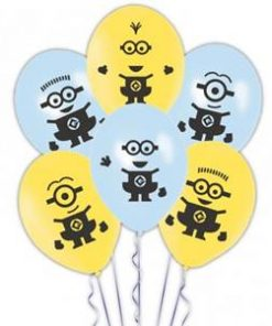 Minions Printed Latex Balloons