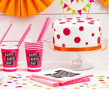 Neon Themed Birthday Party Supplies