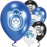 Police-Party-Latex-Balloons