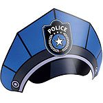 Police-Party-hats