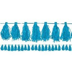 Turquoise Tassel Decorations