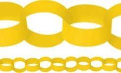 Yellow-Paper-Chain-Garland
