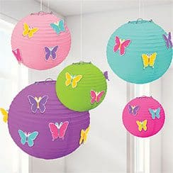 butterfly-paper-lanterns