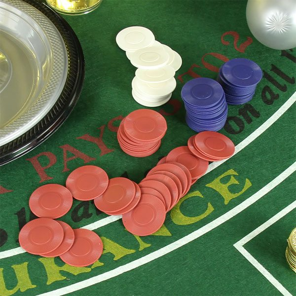 Poker Chips Party Set - Fun Party Supplies