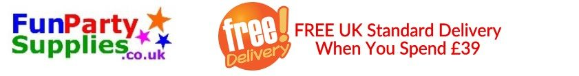 Free Delivery on Childrens Party Supplies in the UK Spend just £39