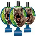 Jurassic World Party Blowers Pk 8